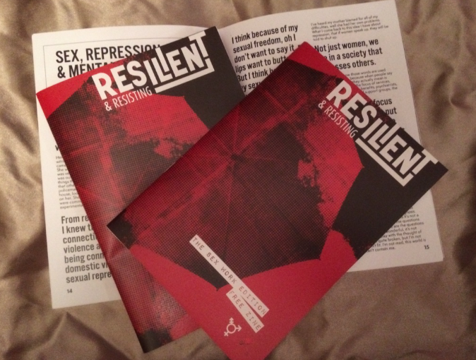 Resilient and Resisting Zine - The Sexwork Edition