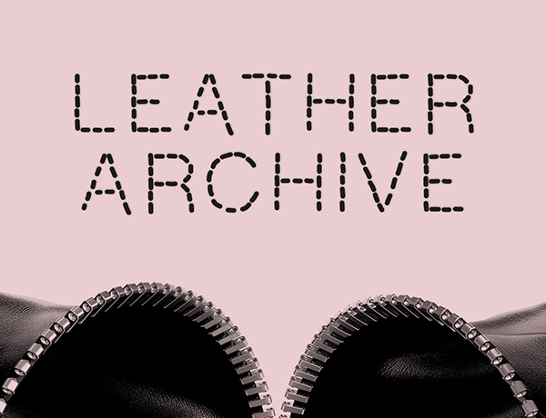 Zipped open leather image for archive event